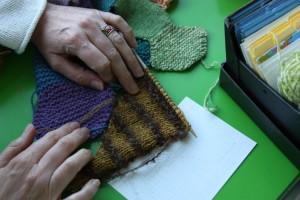 Knitting Bee møder Bybi på SMK