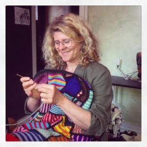 Annie's tæppe skal bo hos Dorte